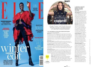 Elle Mag Half Page PR - PR Value R111,111.00