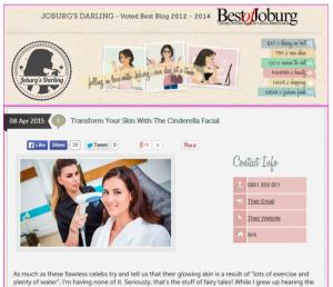 Joburgs darling